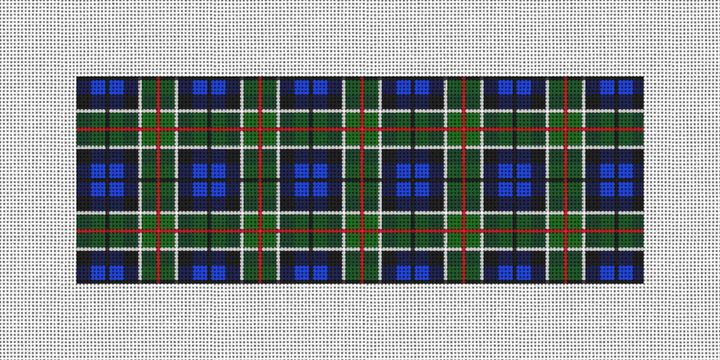 Perfectly Plaid Needlepoint Wallet Canvas