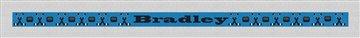 Personalized Hockey Needlepoint Belt Canvas