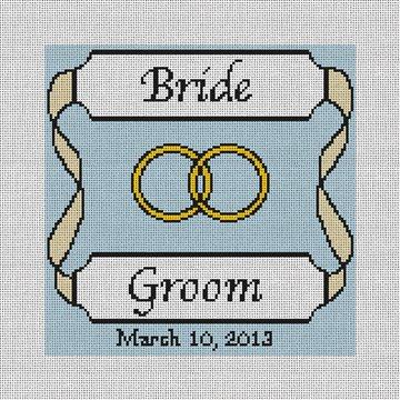 Personalized Yellow Ribbon Ring Bearer Canvas