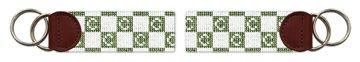 Primis Letter Needlepoint Key Fob