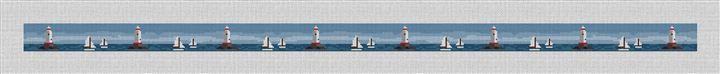Sakonnet Lighthouse Needlepoint Belt Canvas