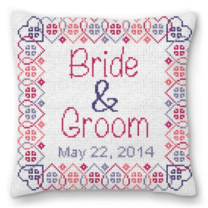 Salo Wedding Ring Bearer Pillow