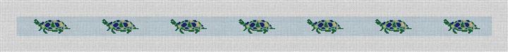Sea Turtle Needlepoint Belt Canvas