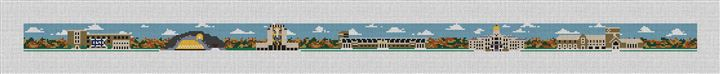 South Bend Campus Needlepoint Canvas
