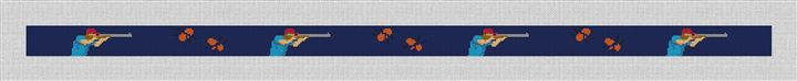 Sporting Clays Needlepoint Belt Canvas