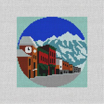 Telluride Needlepoint Ornament Canvas