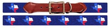 Texas State Needlepoint Dog