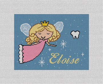 Tooth Fairy Needlepoint Pillow Canvas