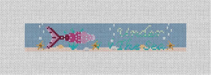 Under The Sea Needlepoint Key Fob Canvas