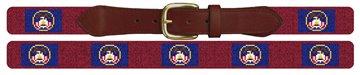 Utah Flag Needlepoint Belt