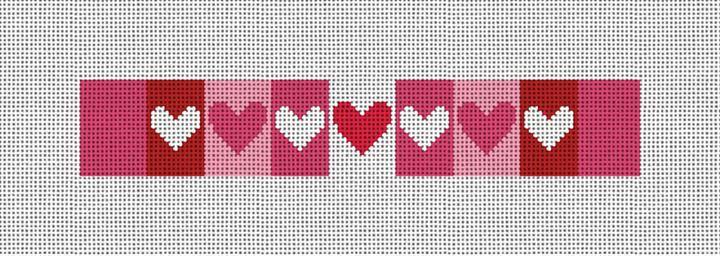 Valentine Needlepoint Key Fob Canvas