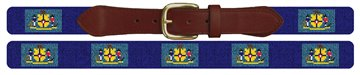 Wisconsin Flag Needlepoint Belt