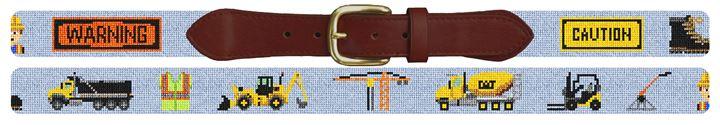 Work Zone Needlepoint Belt